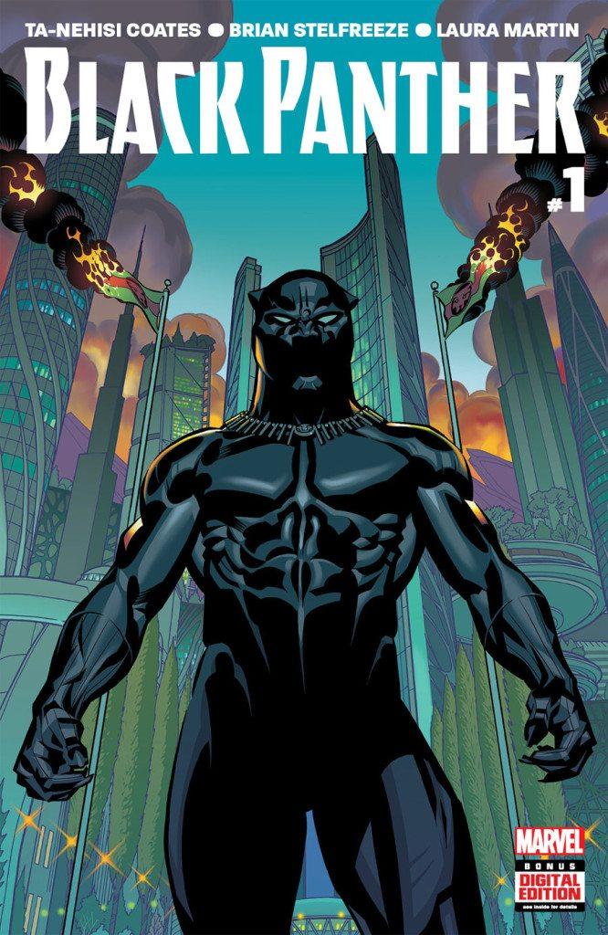 Black Panther #1 | Marvel Comics (2016) Ta-Nehisi Coates (writer), Brian Stelfreeze (art), Laura Martin (colours), Joe Sabino (letters)