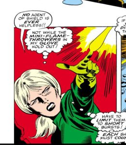 Captain America #114, written by Stan Lee, pencilled by John Romita, Sr., inked by Sal Buscema, lettered by Herb Cooper