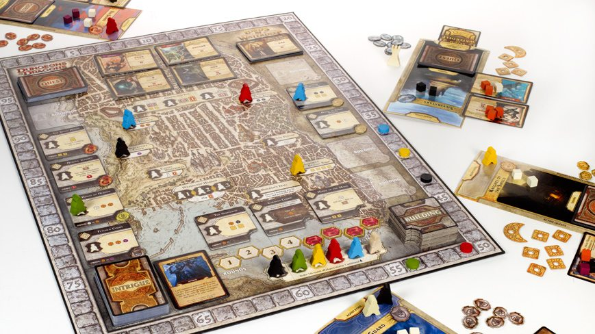 Dice Vice: Lords of Waterdeep, a D&D Board Game