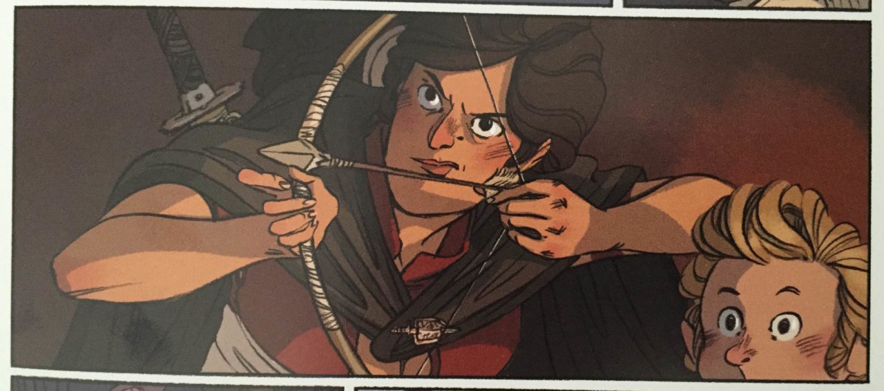Review: Delilah Dirk and The King's Shilling