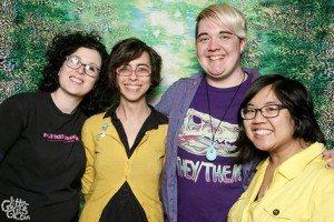 A cohort of Ladydrawers. Image courtesy glitterguts.com