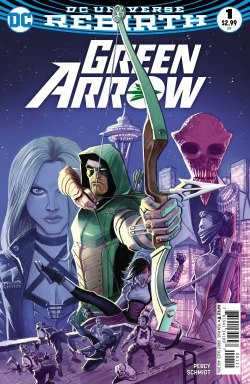 Green Arrow #1. Benjamin Percy (Writer), Otto Schmidt (Artist), Nate Piekos (Letterer) and Juan Ferreyra (Cover Artist). DC Comics. June 15th, 2016.