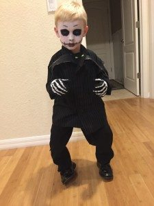 Gratuitous pic of my little dude as Jack Skellington