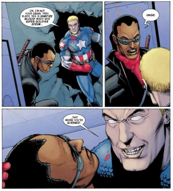 Ultimates Comics Avengers 3 #3, written by Mark Millar, pencilled by Steve Dillon, inked by Andy Lanning, colored by Matt Hollingsworth, lettered by VC's Cory Petit.
