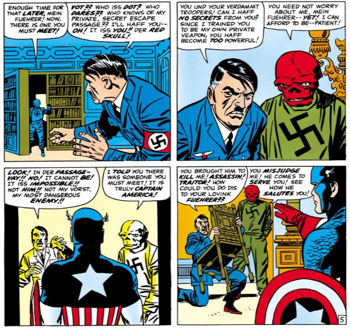 Tales of Suspense #67, written by Stan Lee, pencilled by Jack Kirby, inked by Frank Giacoia, lettered by Artie Simek