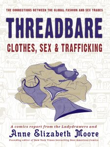 The cover of Threadbare. Image courtesy The Ladydrawers.