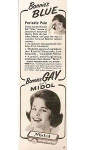 Vintage ad for Midol