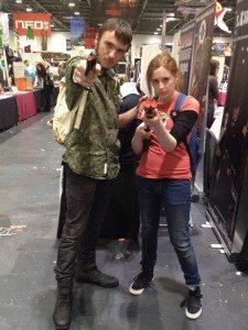 Rosie Clarke cosplay