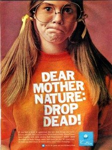 vintage period ad kotex 1970s