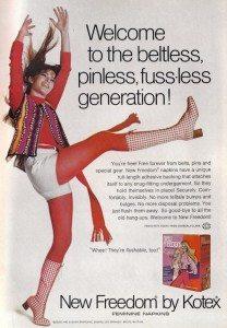 vintage kotex ad