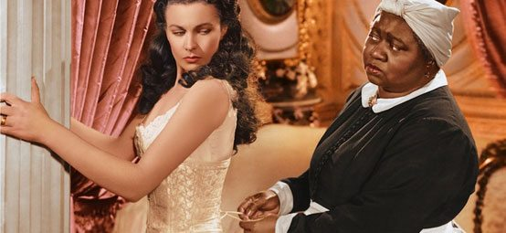 Vivienne Leigh and Hattie McDaniel in Gone with the Wind (1940)
