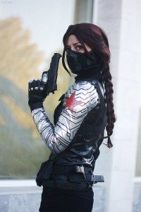 Cosplay of Winter Soldier by MarcyFromMars