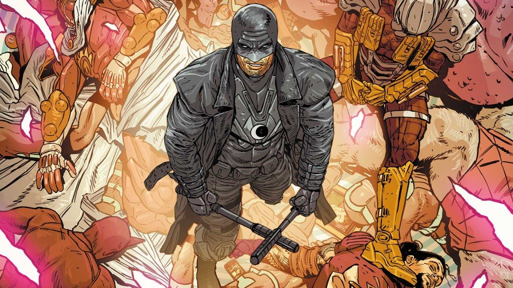 Cover of Midnighter #12 (and possibly Midnighter vol.2: Hard) by ACO