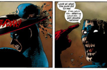 Marvel Zombies #1, written by Robert Kirkman, drawn by Sean Phillips, colored by June Chung, lettered by VC's Randy Gentile