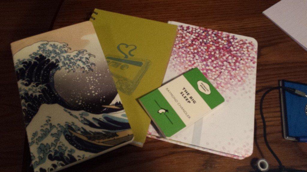 Notebooks, Christa Seeley, 2016