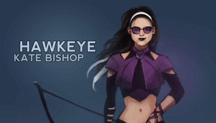Kate Bishop as Hawkeye