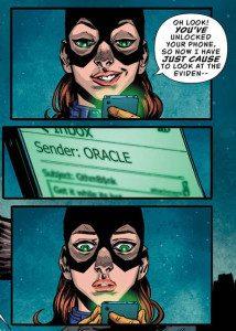 Batgirl and The Birds of Prey: Rebirth #1. Julie Benson and Shawna Benson (Writers). Claire Roe (Artist). Allen Passalaqua (Colourist). Steve Wands (Letterer). DC Comics. July 20 2016.