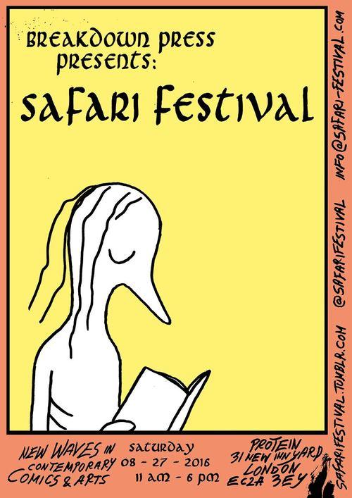 Safari Poster 2016, Anna Haifisch