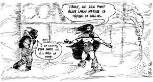 By Crom! by Rachel Kahn via wealdcomics.com