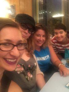 Myself, Megan, Laura, and Kat