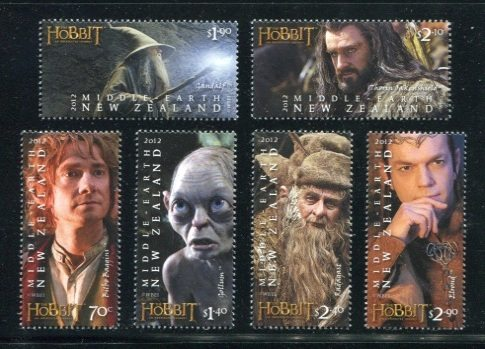 Hobbit New Zealand Stamps