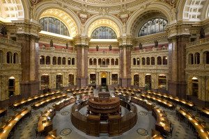 What's going on in here, Library of Congress?
