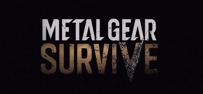 Metal Gear Survive(s)
