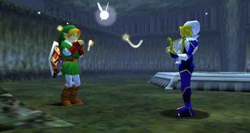 Ocarina of Time Sheik