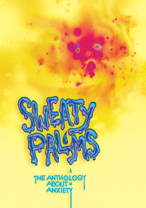 Sweaty Palms anthology cover by Chris Brunner, image courtesy Sweaty Palms.