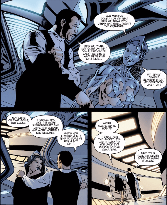 from The Authority #2 by Warren Ellis and Bryan Hitch