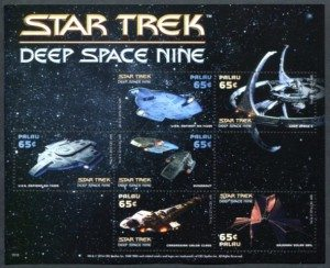 Star Trek Deep Space Nine Palau stamps
