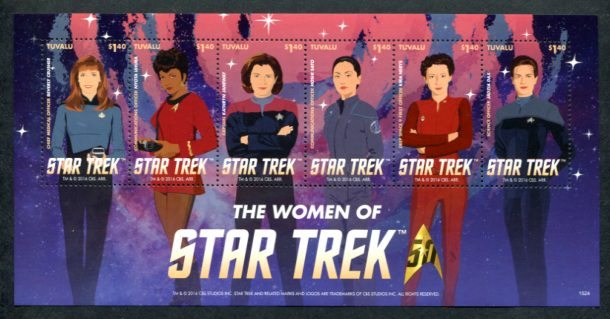 Star Trek Women Tuvalu