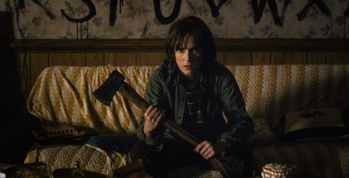Stranger Things - Joyce Byers, played by Winona Ryder - Netflix 2016
