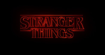 Stranger Things Title Screen Netflix 2016
