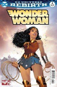 Greg Rucka (Writer). Nicola Scott (Artist). Romulo Fajardo Jr. (Colourist). Jodi Wynne (Letterer). DC Comics. August 10th, 2016. Cover.