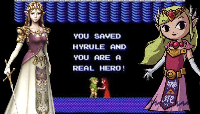 The Evolution of Princess Zelda