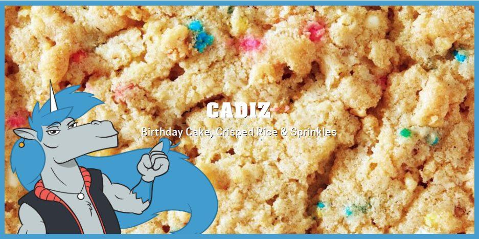 Einhorn's Epic Cookies, featuring Cadiz (http://einhorns-epic-cookies.com/)