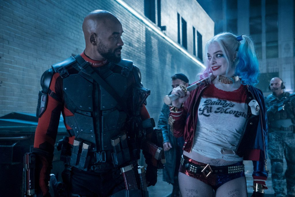 Deadshot and Harley in Suicide Squad, 2016