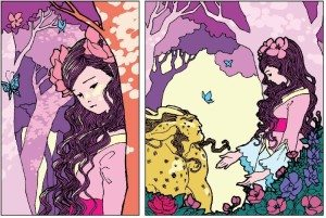 Fresh Romance, Beauties, by Marguerite Bennett, art by Trungles, Rosy Press, 2015