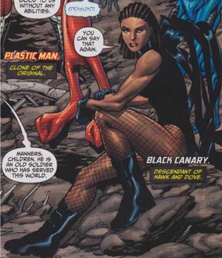 Black Canary, Justice League: Generation Lost #14; Aaron Lopresti & Matt Ryan with Hi-Fi Design