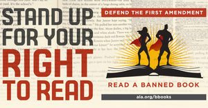 Banned Books Week Advert from ALA