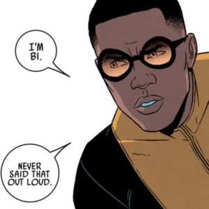 Prodigy/David Alleyne from Kieron Gillen and Jamie McKelvie's Young Avengers.