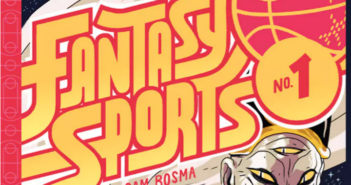 Fantasy Sports Feature. Image from Nobrow Press and Sam Bosma's Fantasy Sports.