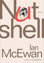 Ian McEwan Nutshell Book Cover from The Guardian review.
