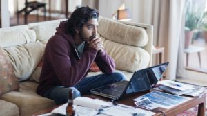 Dev Patel as Saroo Brierley in Lion movie