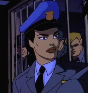 Renee Montoya, from Batman: The Animated Series.