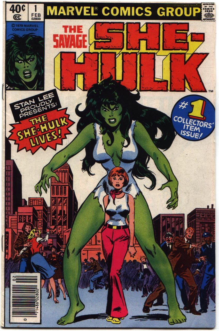 Jennifer Walters is Marvel's HULK. It's About Time!