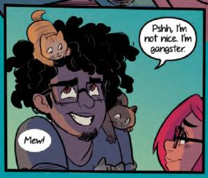 Mateo - Finding Molly. Image courtesy Emet Comics.
