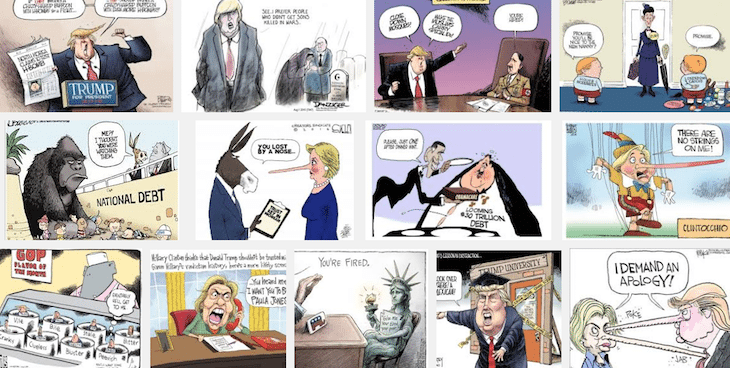 Political Cartooning and How to Survive the Pitfalls of the Internet