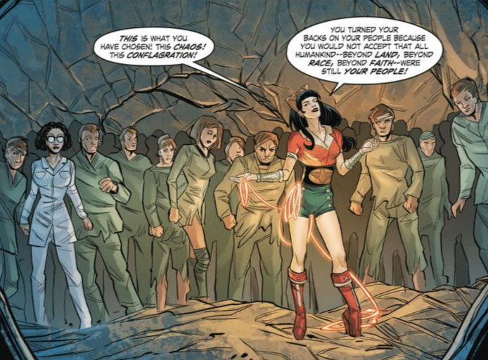 Wonder Woman Bombshells Full